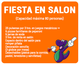 FIESTA EN SALON